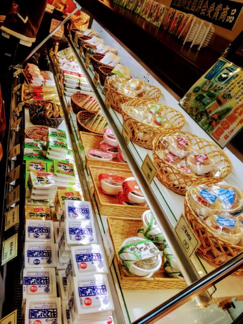 Natto ramen, natto soup, natto crackers