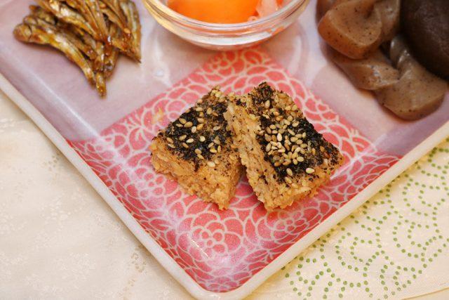松風焼き,おせち,ワンプレートおせち,発酵おせちプレート,お正月,日本,伝統文化,しきたり:【発酵おせちプレート】ワンプレートおせち作りは大晦日でも間に合います!:発酵ライフを楽しむ haccola(ハッコラ)