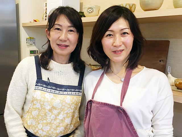 香坂先生(左)とサロン響・主宰の栗原さん(右)