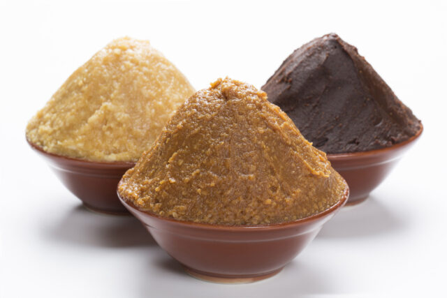 Koji in Miso Production:haccola Japanese fermented foods and cuisine
