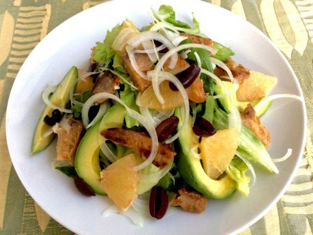 【フィッシュ味噌サラダ】ニューヨーク発!ホリスティックシェフJayさんの発酵レシピ:haccola 発酵ライフを楽しむ「ハッコラ」