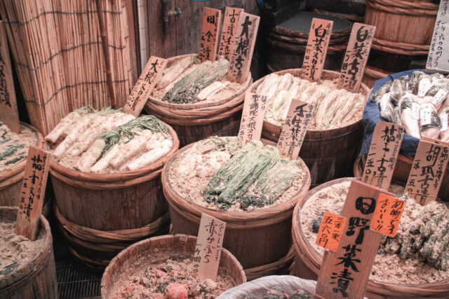 On the Crunchy Side, Nukazuke Delivers Next Day Pickles:haccola Japanese fermented foods and cuisine