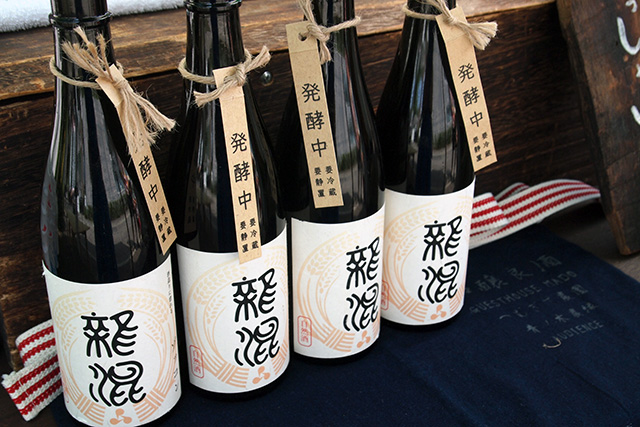 生酛仕込みの日本酒も販売されていた「発酵マルシェ」