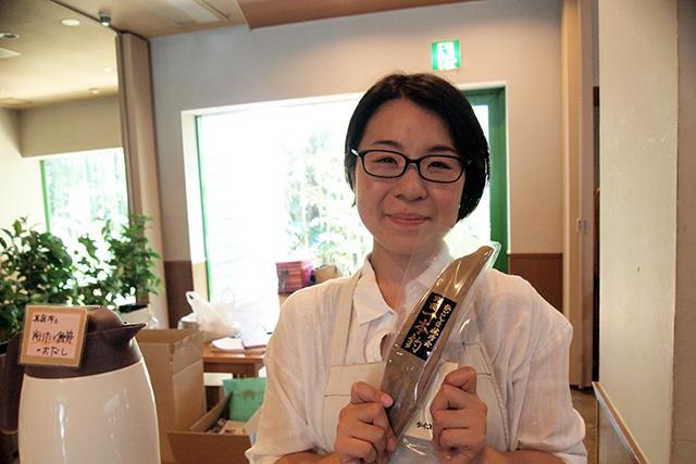 タイコウの大塚 麻衣子さんは、かつお節ビギナーにも上級者にも、その人にぴったりのものをご紹介されていました。
