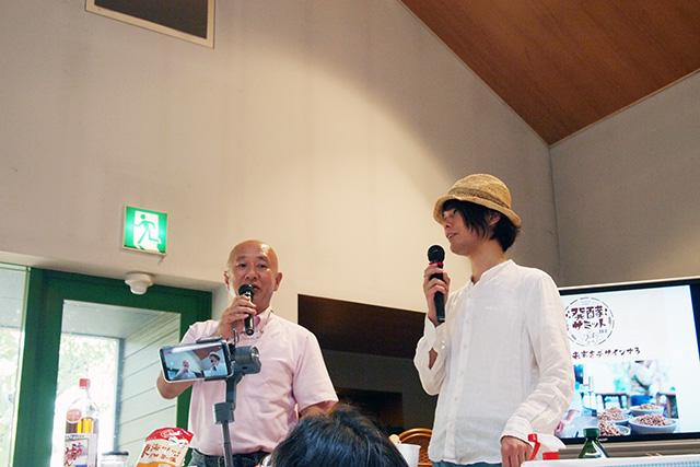 「発酵サミット 2018 in 犬山」のステージに登壇するゲストの方々