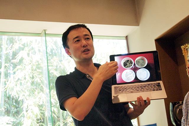 「三分で魅せる米こうじ作り」 講師:菱六 助野彰彦さん