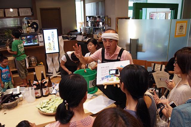 「味噌を知って味噌漬けを作ろう」 講師:東海醸造 本地 猛さん