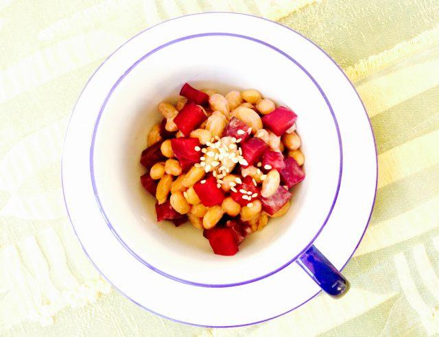 【納豆とビーツのピクルス】ニューヨーク発!ホリスティックシェフJayさんの発酵レシピ:haccola 発酵ライフを楽しむ「ハッコラ」