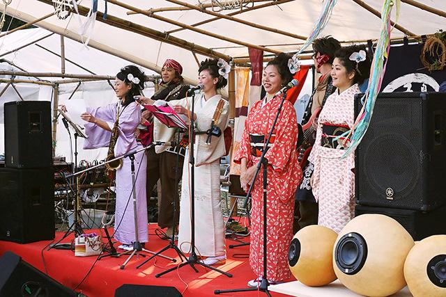 イマジン盆踊り部(2017年お蔵フェスタ)