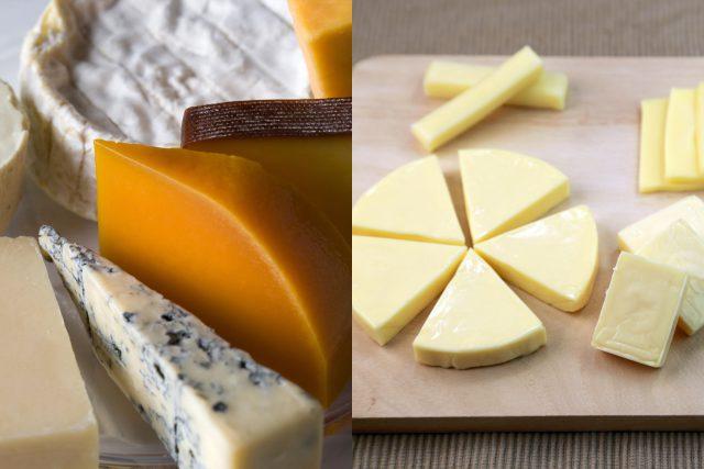 チーズは製造方法の違いにより、ナチュラルチーズとプロセスチーズに分類されるのをご存知でしたか?