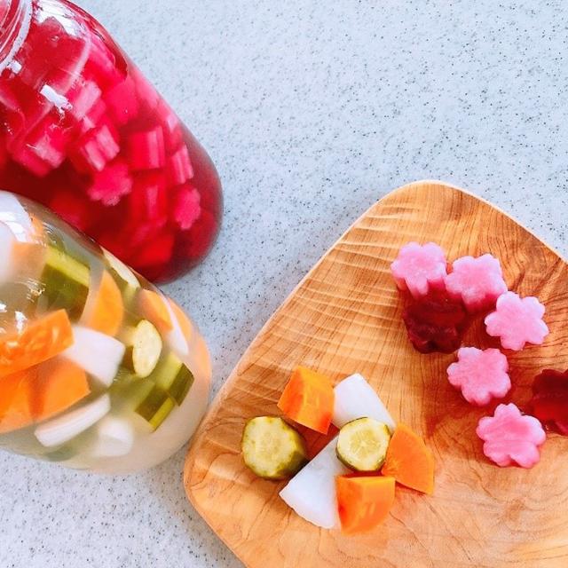春爛漫♡塩のみでつくる「乳酸発酵ピクルス」の作り方│春分(しゅんぶん)の二十四節気発酵レシピ