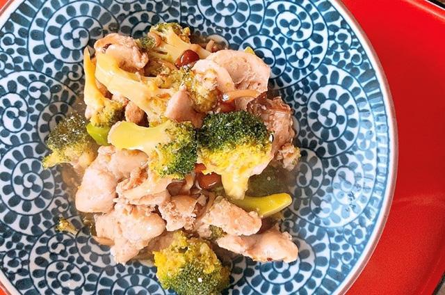 ブロッコリーと鶏むね肉のとろみ煮