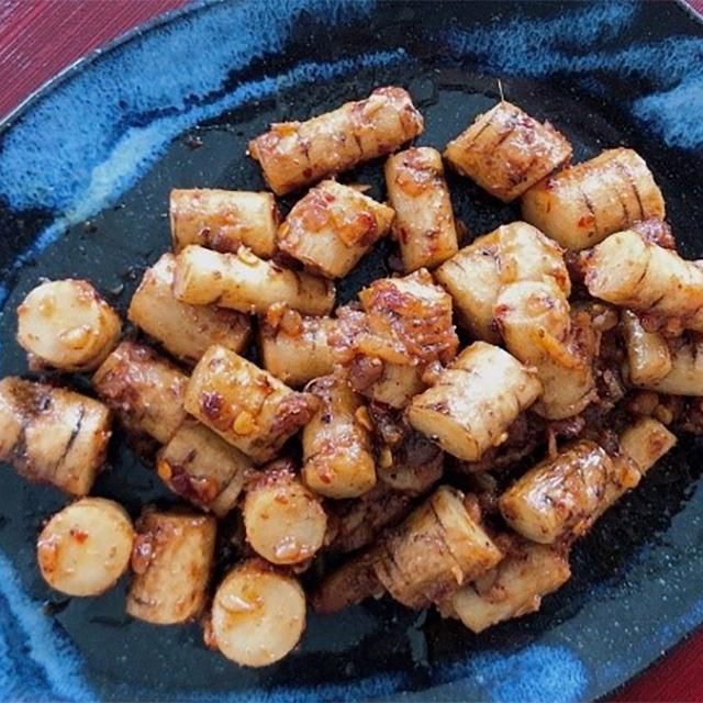 霜降(そうこう)の二十四節気発酵レシピ│醤油麹と純米酢の「ごぼうのゴリゴリ」他、ご飯が進む2品