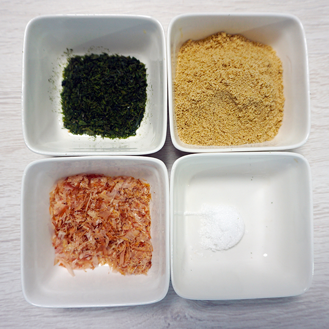 材料│炒りぬかふりかけレシピ