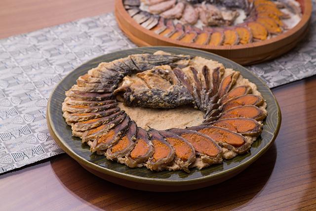 鮒鮓をフレンチに昇華したメイン料理は、ロテルド比叡のコンセプトを象徴する一皿