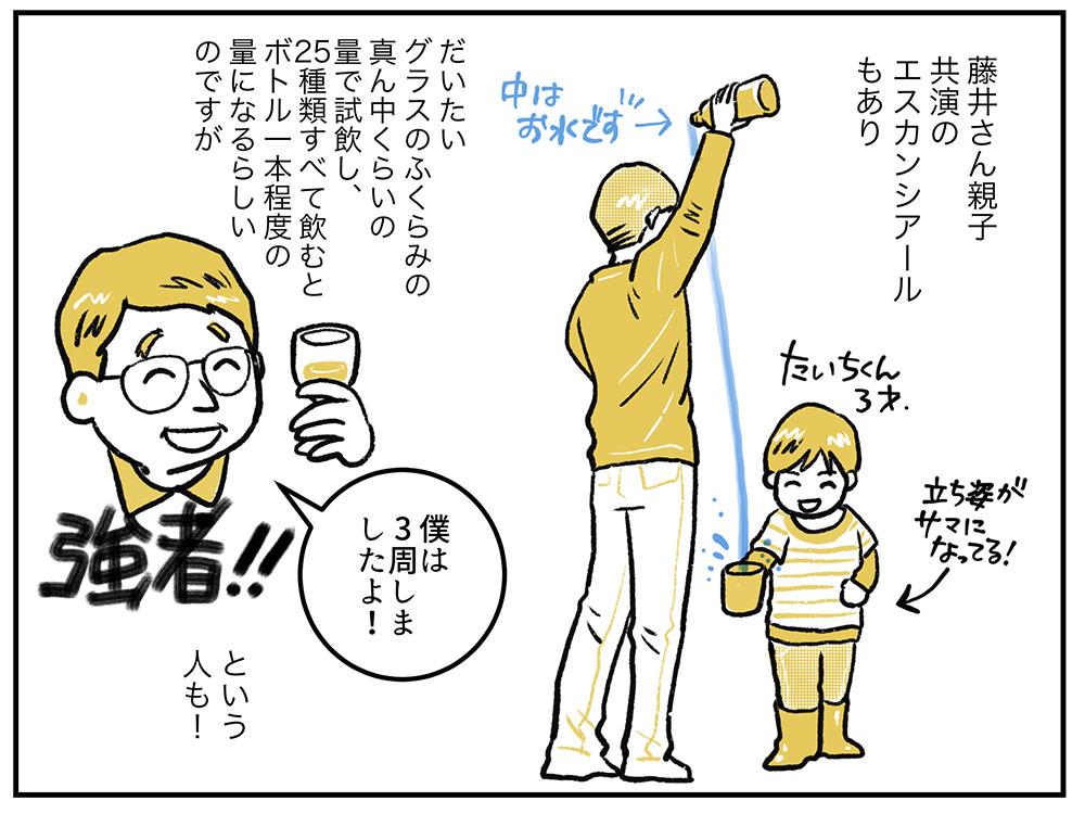 藤井親子のエスカンシアール