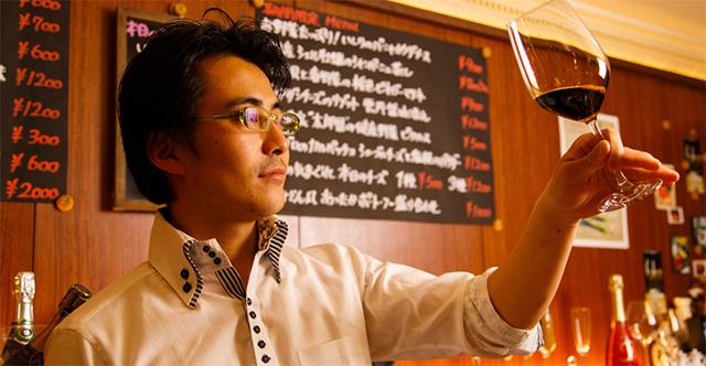 「シャンパン&醤油BAR フルートフルート」醤油の旅人 大土橋努さん ※シャンパン&醤油BAR フルートフルートオフィシャルサイトより