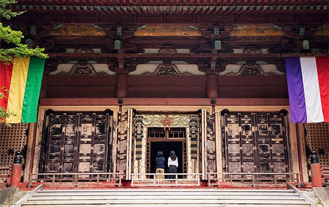 延暦寺の勤行体験