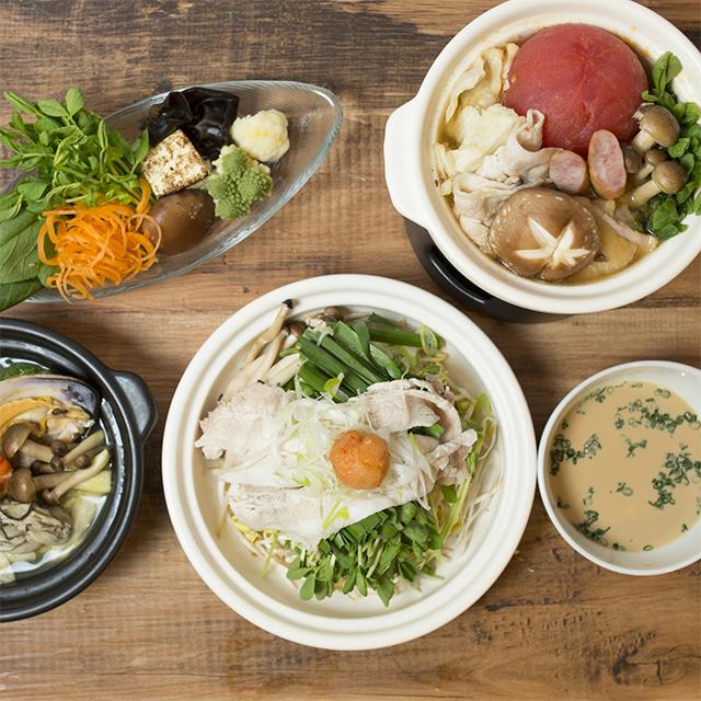 発酵食堂『東京850 PIT』の季節限定「発酵1人鍋」