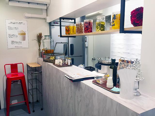 発酵ドリンク専門店『東京850 STAND』内観
