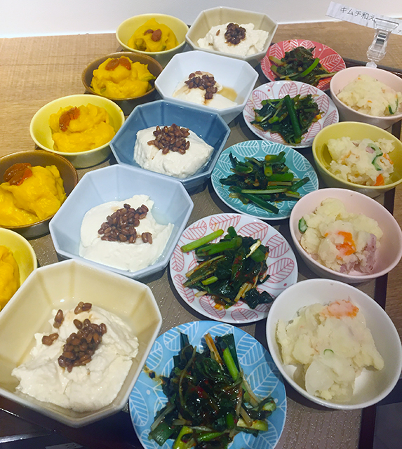 発酵食堂『東京850 PIT』オープニングレセプションで振舞われたお料理