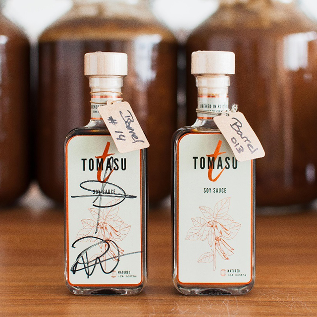 Tomasu Soy Sauce. The only micro Shoyu brewery in Europe.