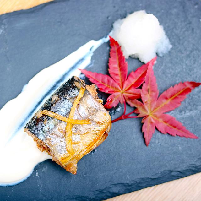 【寒露~霜降】秋刀魚の甘露煮 塩麹豆腐クリーム添え:発酵ワクワク大使の二十四節気レシピ