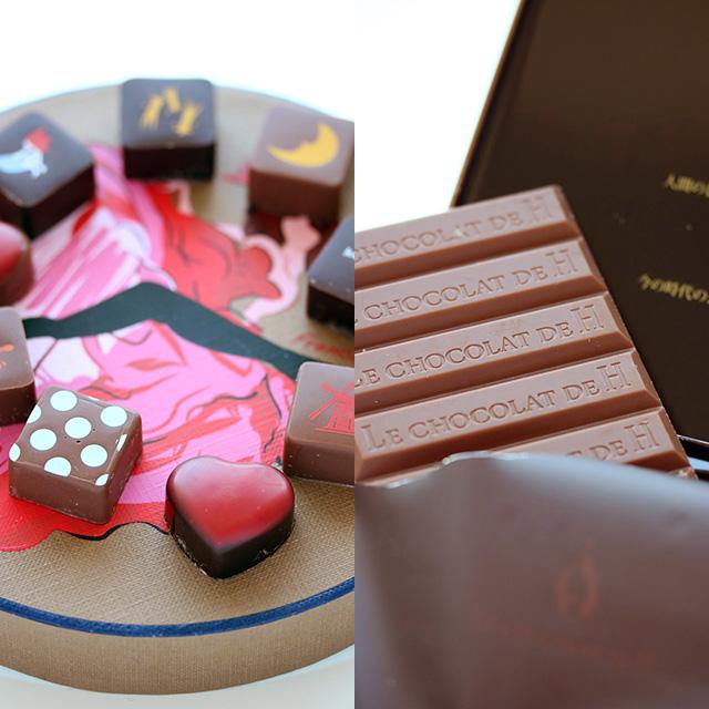 ジャン=ポール・エヴァン,と辻口博啓のLE CHOCOLAT DE H(ル ショコラ ドゥ アッシュ)の味噌を使ったチョコレートで発酵バレンタインデー