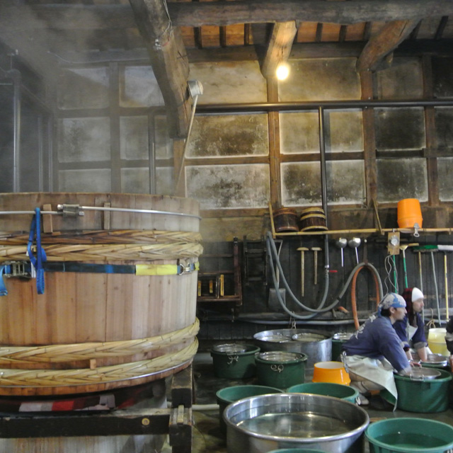 Touring the sake brewery of Terada Honke to experience the 340 years of history in natural fermentation!