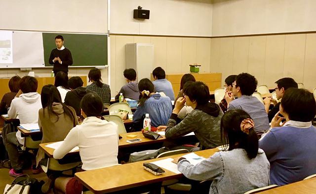 名城大学の「チャレンジ國酒プロジェクト」講義風景