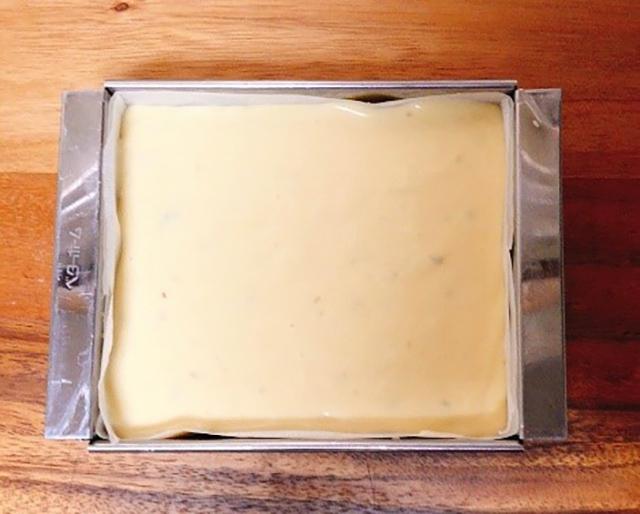 わさび漬けのチーズケーキの作り方