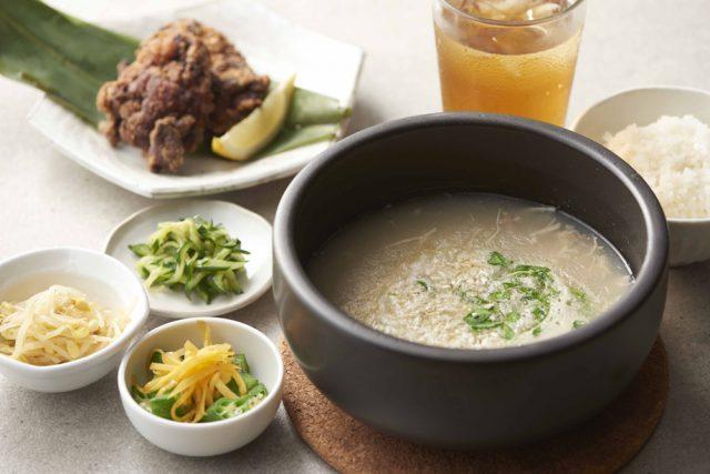 「発酵居酒屋5」で提供している参鶏湯にも、干し栗の代わりに麹が入っています。