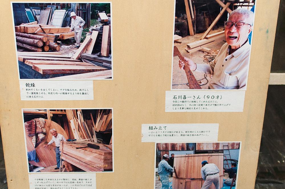 職人・石川喜一さんと澤田酒造の甑や道具たち