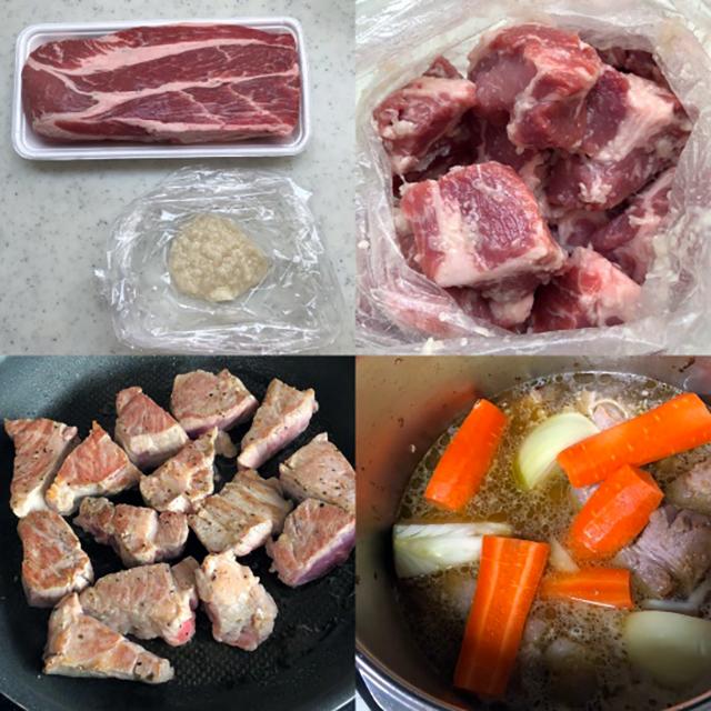 作り方:豚肉のビール煮レシピ
