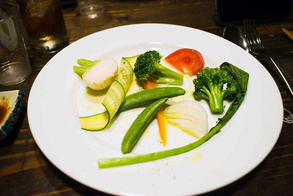 愛知県産美味しい野菜の温サラダ