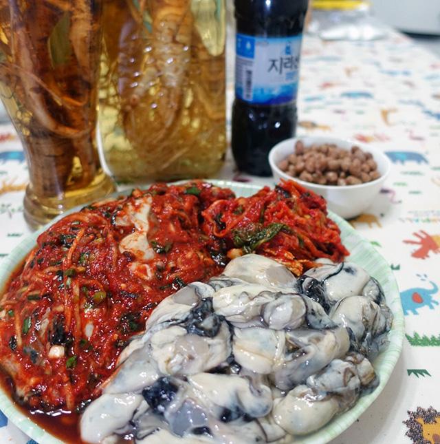 キムジャンの時期が旬の牡蠣