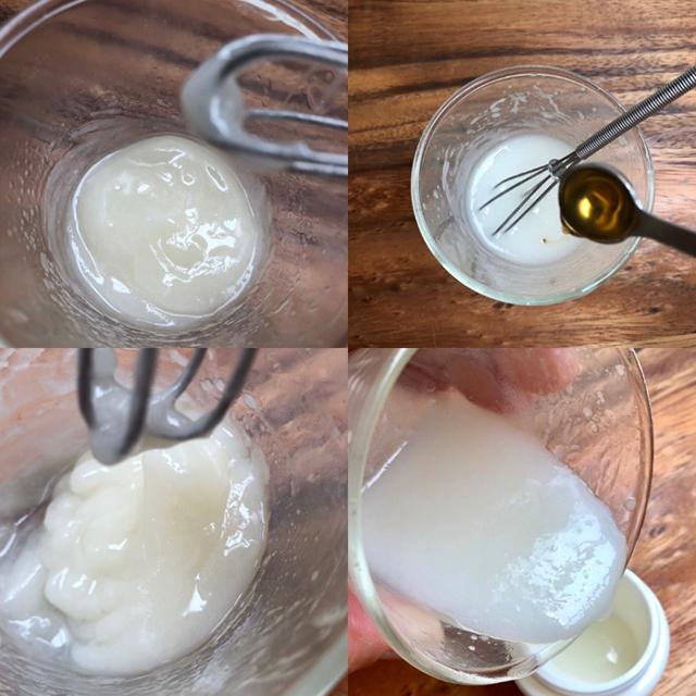 作り方│「甘酒ハンドクリーム」レシピ