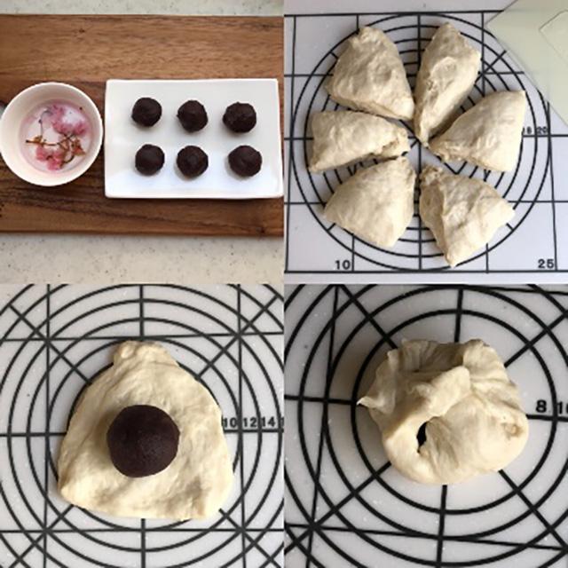 作り方:フライパンで作るあんぱん