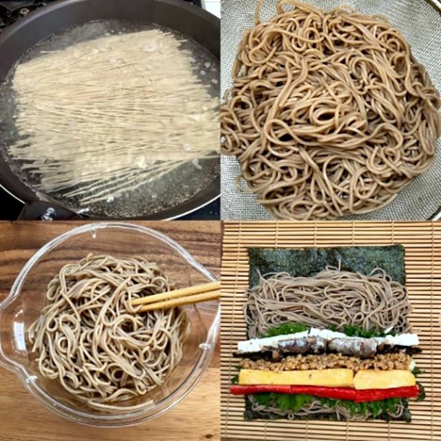 作り方│節分の開運フード(豆・イワシ・ソバ)が丸ごと入った『発酵恵方巻き』レシピ