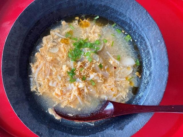 「乳酸菌きのこと玉子のすっぱいスープ」の作り方│乳酸菌きのこのアレンジレシピ