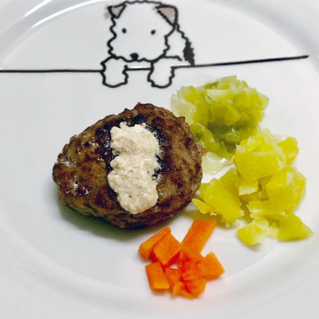 酵ドッグフードレシピ「発酵わんこハンバーグ」
