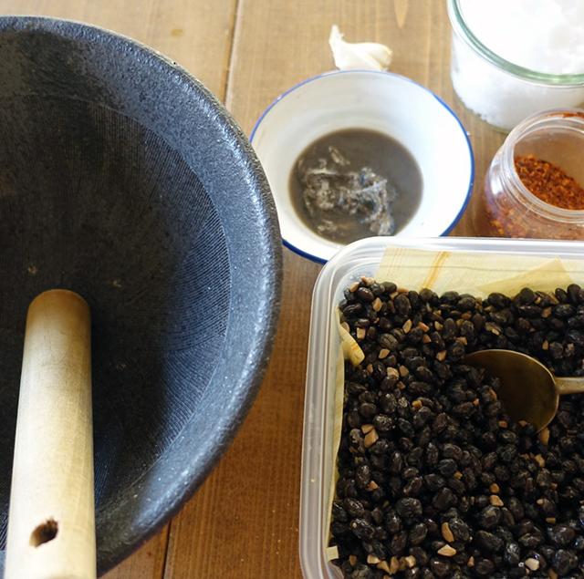 トナオ包み焼、またはトナオ蒸しの材料