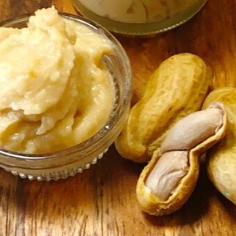 発酵ピーナッツバターの作り方│麹と生落花生のノンシュガー・非加熱レシピ