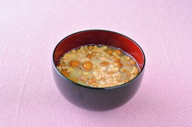 なめこと納豆のみそ汁:haccola 発酵ライフを楽しむ「ハッコラ」