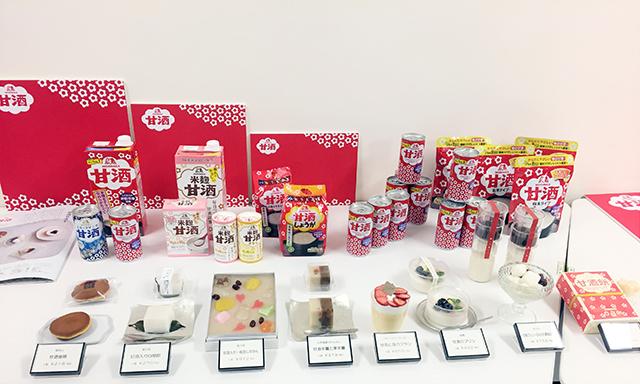『森永甘酒』を商品に使用したスイーツが、伊勢丹新宿店で期間限定発売中