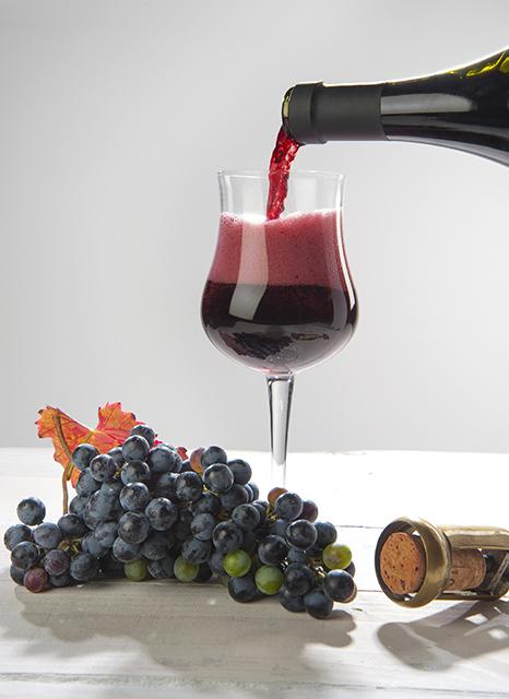 赤ワインのスパークリングワイン「ランブルスコ」